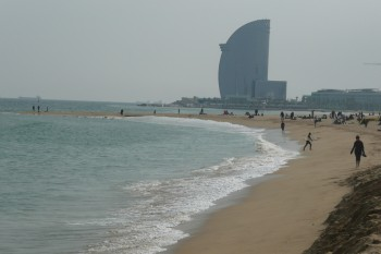 Barcelona - beaches to W Hotel