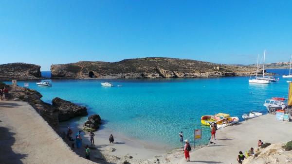 Blue lagoon, Comino 1