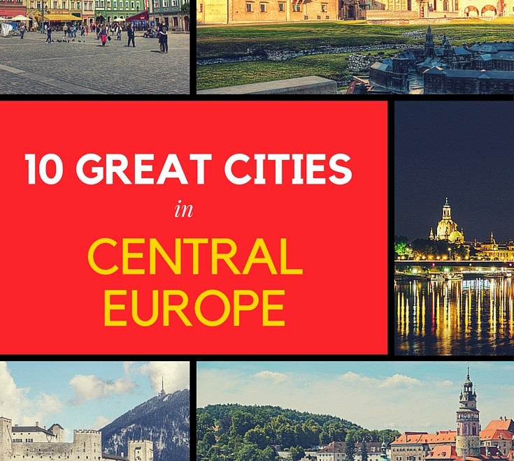 central europe cities