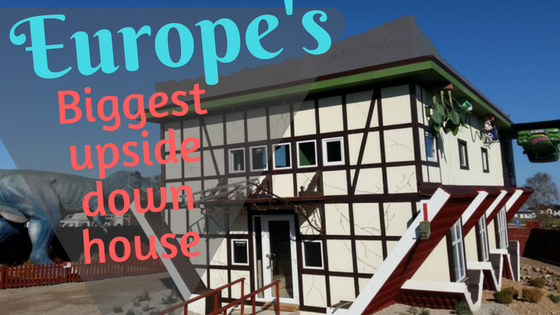 Europe's biggest inverted house opened in Lithuania