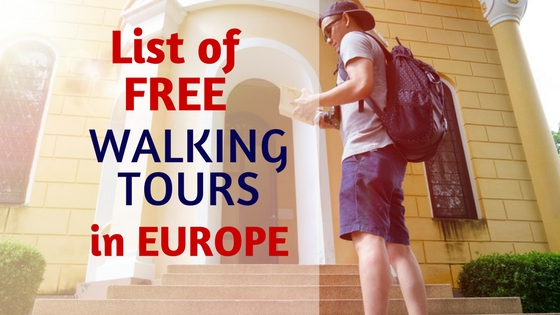 List of Free walking tours in Europe